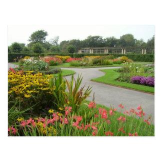 Stanley Park gardens Postcard