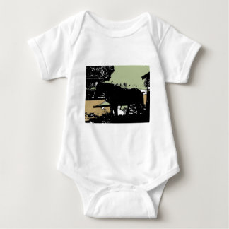 Stanley Park Horse and Trolley Baby Bodysuit