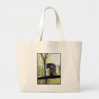 "Stanley Park ""Rocky"" the Raccoon Gylliayn Art Tote Bag"