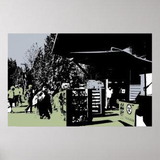 Stanley Park Totem Poles Shop Poster