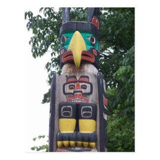 Stanley Park Totem Postcard