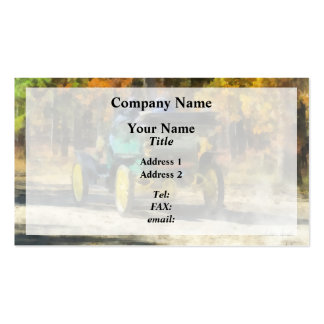 Stanley Steamer Automobile Business Card