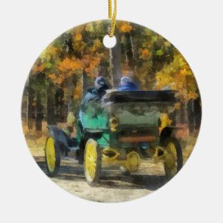 Stanley Steamer Automobile Christmas Ornament