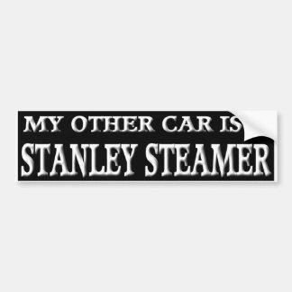 STANLEY STEAMER BUMPER STICKER