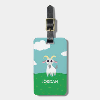 Stanley the Goat Bag Tag