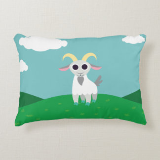 Stanley the Goat Decorative Pillow