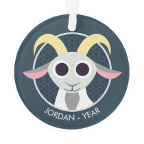 Stanley the Goat Ornament