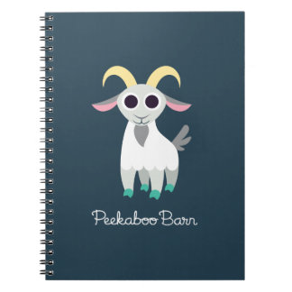 Stanley the Goat Spiral Notebook