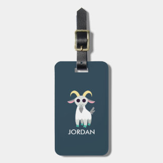 Stanley the Goat Tag For Bags