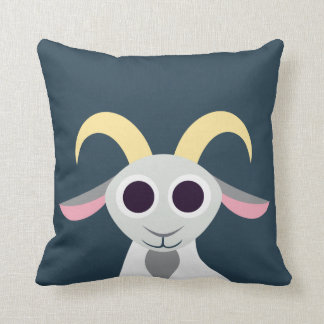 Stanley the Goat Throw Pillow