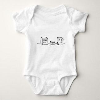 StanleyAl&Carl Baby Bodysuit