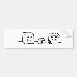 StanleyAl&Carl Bumper Sticker