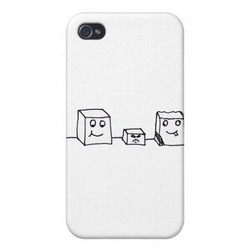 StanleyAl&Carl iPhone 4 Protectores