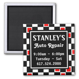 Stanley's business promotion magnet