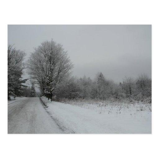 Stannard Mountian Road, Vermont Postcard