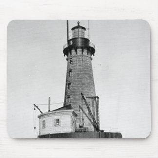 Stannard Rock Lighthouse Mouse Pad