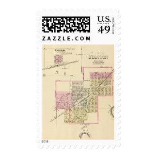 Stanton and Pilger, Nebraska Postage Stamps