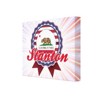 Stanton, CA Lienzo Envuelto Para Galerías