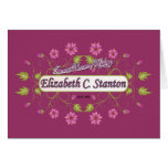 Stanton ~ Elizabeth Cady / Famous USA Women Greeting Card