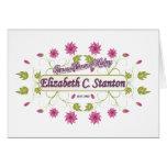 Stanton ~ Elizabeth Cady / Famous USA Women Stationery Note Card