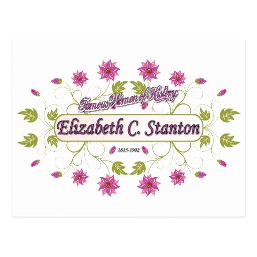 Stanton ~ Elizabeth Cady / Famous USA Women Post Card