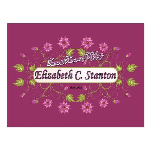 Stanton ~ Elizabeth Cady / Famous USA Women Post Cards