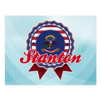 Stanton, ND Postcard