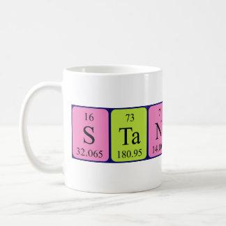 Stanton periodic table name mug