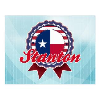 Stanton, TX Postcard