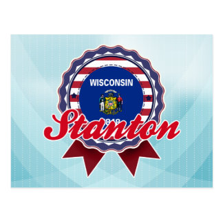 Stanton, WI Postcard