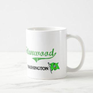 Stanwood Washington City Classic Classic White Coffee Mug