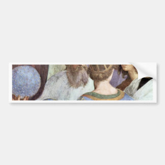 Stanza Della Signatura In The Vatican For Pope Jul Car Bumper Sticker