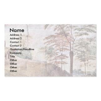 Stanza Della Signatura In The Vatican For Pope Jul Business Card Template