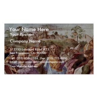 Stanza Della Signatura In The Vatican For Pope Jul Business Card