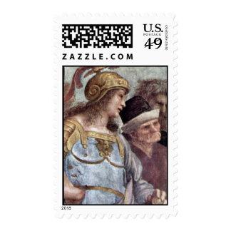 Stanza Della Signatura In The Vatican For Pope Jul Postage Stamp