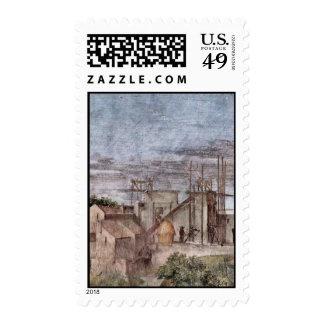 Stanza Della Signatura In The Vatican For Pope Jul Stamp