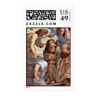 Stanza Della Signatura In The Vatican For Pope Jul Postage Stamps