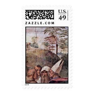 Stanza Della Signatura In The Vatican For Pope Jul Stamps