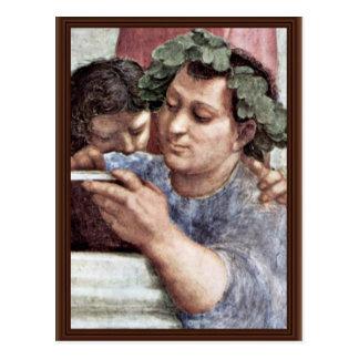 Stanza Della Signatura In The Vatican For Pope Jul Postcard