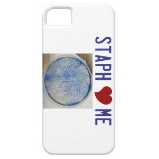 Staph Love Me in white iPhone 5 Covers
