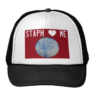 Staph Love Me red Trucker Hat