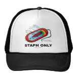 Staph Only (Bacteria Health Medicine Humor) Hats