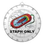 Staph solamente (bacterias del Prokaryote del diag Tabla Dardos