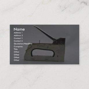 Staples business cards zazzle staple gun business card colourmoves