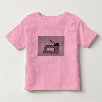 Staple gun toddler t-shirt