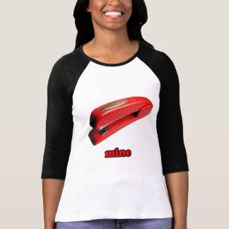 Stapler Mine Ladies Raglan Shirt