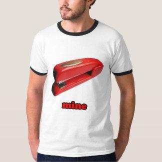 Stapler Mine Mens Ringer T-Shirt