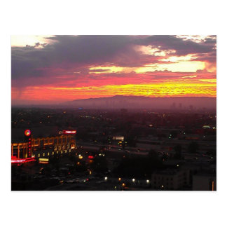 Staples Center Postcard   Beautiful Sunsets