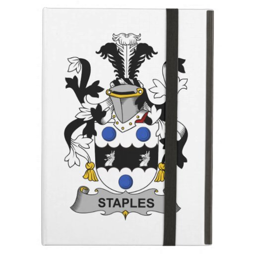 Staples Family Crest iPad Cover