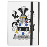 Staples Family Crest iPad Cover